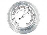 Talamex Boot Barometer Serie 110 Messing Verchroomd