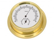 Talamex Boot Thermo-hygrometer Serie 125 Messing